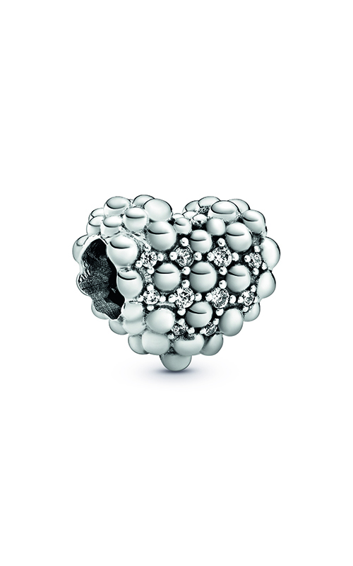 Pandora Beaded Sparkling Heart Charm 798681C01 product image