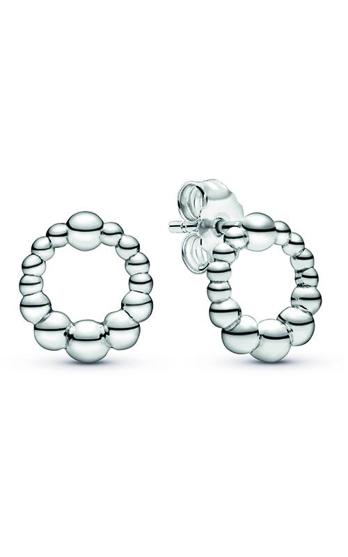 Pandora Beaded Circle Stud Earrings 298683C00 product image