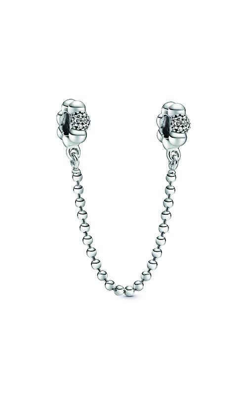 Pandora Beads & Pavé Safety Chain Charm 798680C01 product image