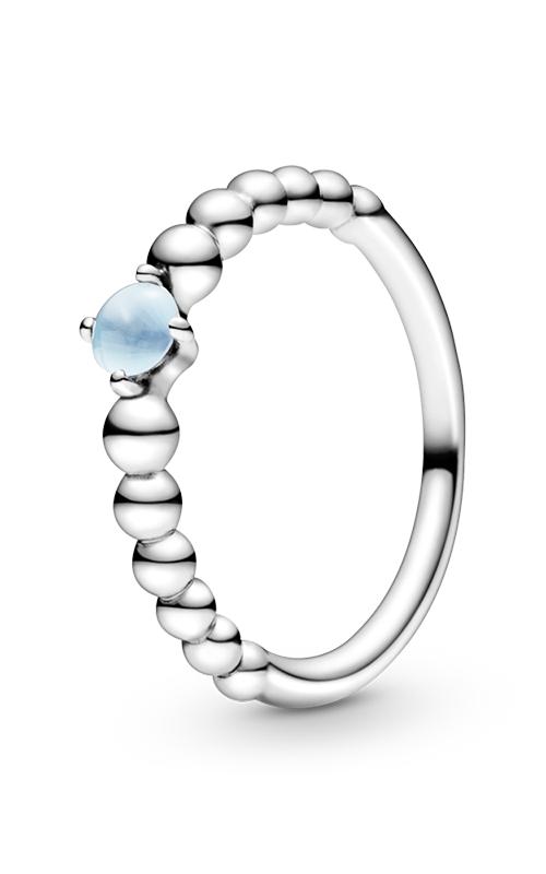 Pandora Sky Blue Beaded Ring 198598C07-48 product image