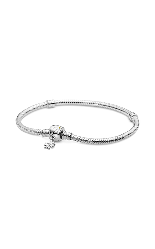 Pandora Moments Daisy Flower Clasp Snake Chain Bracelet 598776C01-16 product image