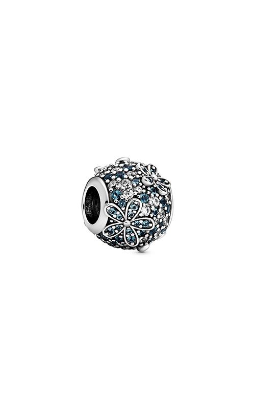 Pandora Teal Pavé Daisy Flower Charm 798797C01 product image