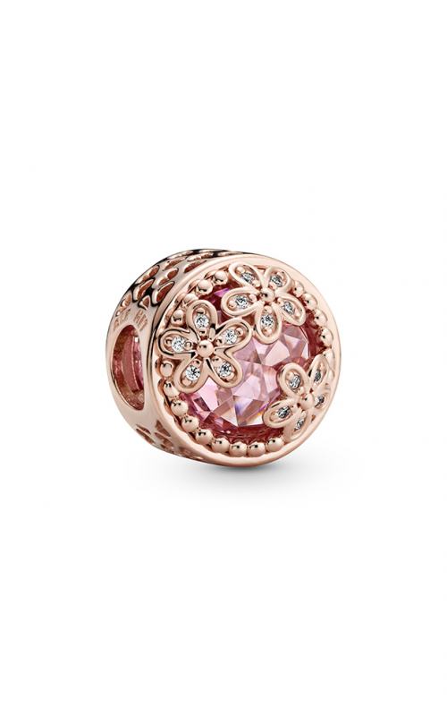 Pandora Sparkling Pink Daisy Flower Charm 782055C01 product image