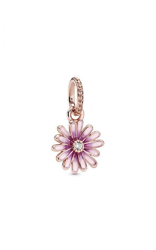Pandora Pink Daisy Flower Dangle Charm 788771C01 product image