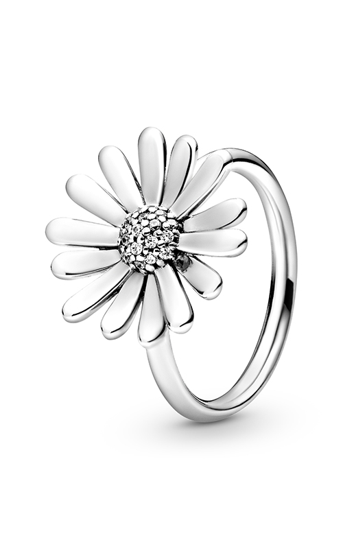 Pandora Pavé Daisy Flower Statement Ring 198817C01-48 product image