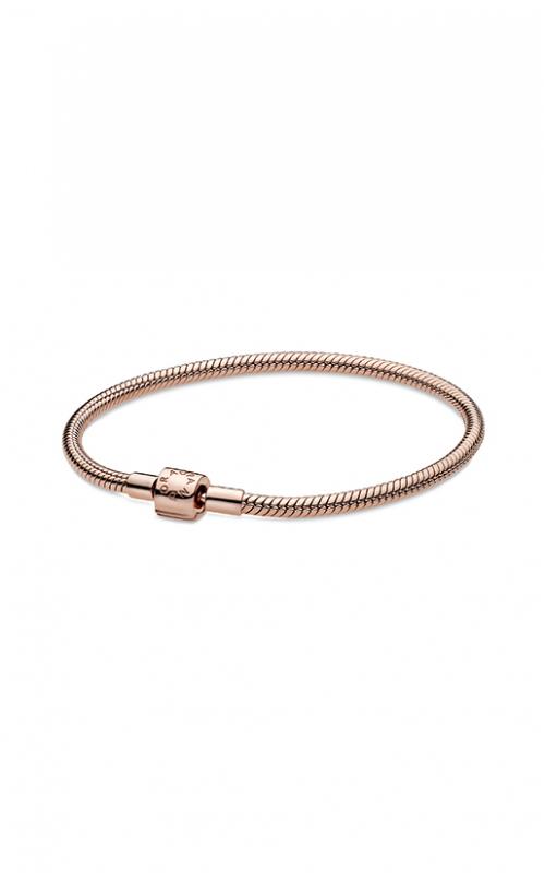 Pandora Rose™ Moments Barrel Clasp Snake Chain Bracelet 588781C00-17 product image