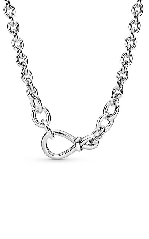 Pandora Chunky Infinity Knot Chain Necklace 398902C00-50 product image