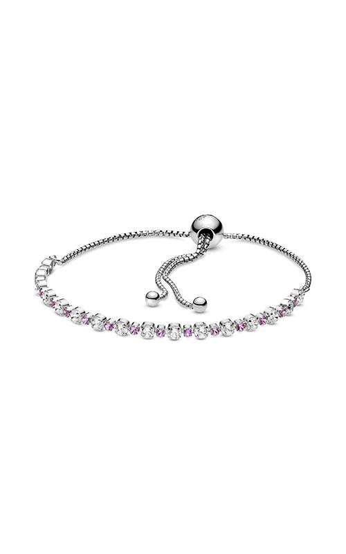 Pandora Pink & Clear Sparkle Slider Bracelet 598517C02-1 product image