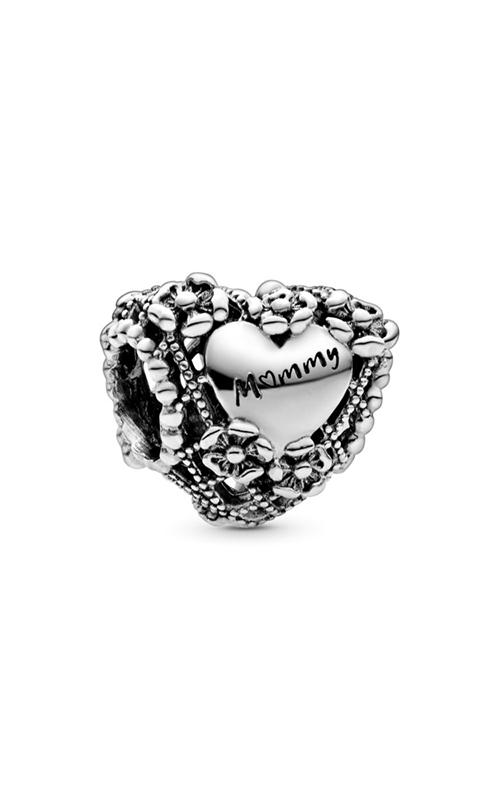 Pandora Openwork Flower Heart Mommy Charm 798892C00 product image