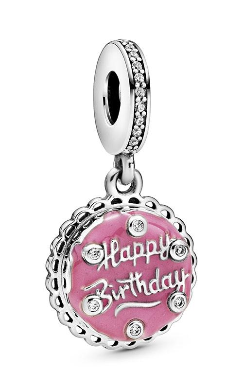 Pandora Pink Birthday Cake Dangle Charm 798888C01 product image