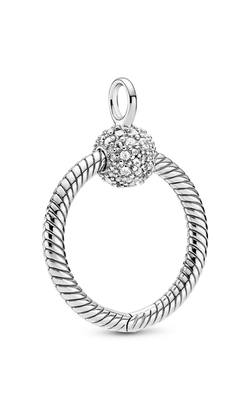 Pandora Moments Small Pavé O Pendant 399097C01 product image