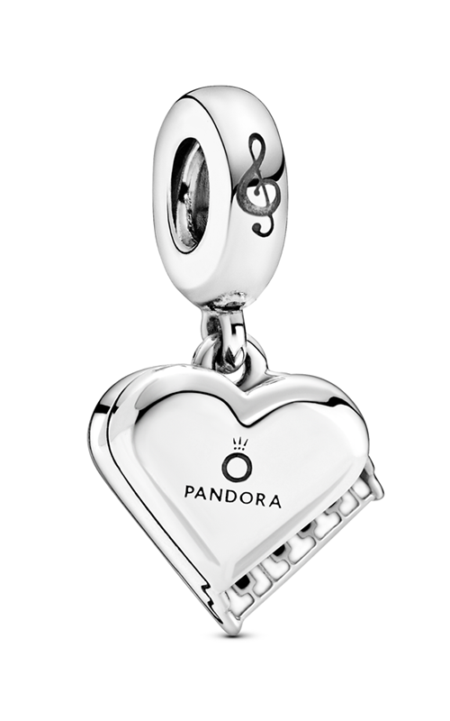 Pandora Grand Piano Heart Dangle Charm 799101C01 product image