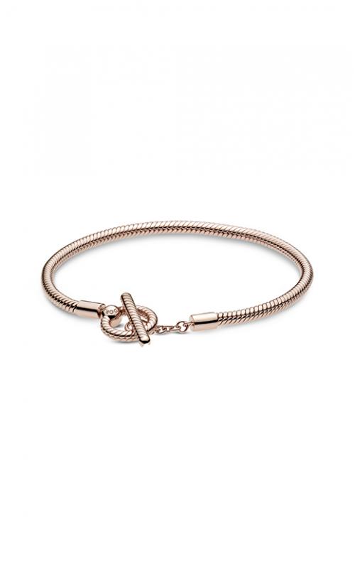 Pandora Rose™ Moments T-Bar Snake Chain Bracelet 589087C00-18 product image