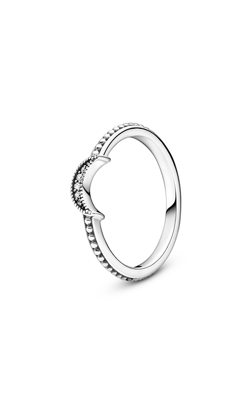 Pandora Crescent Moon Beaded Ring 199156C01-52 product image