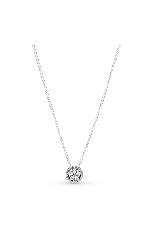 Pandora Sparkling Snowflake, Clear CZ Necklace 399230C01 product image