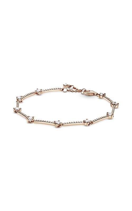 Pandora Sparkling Pave Bars Bracelet, Clear CZ 589217C01-16 product image