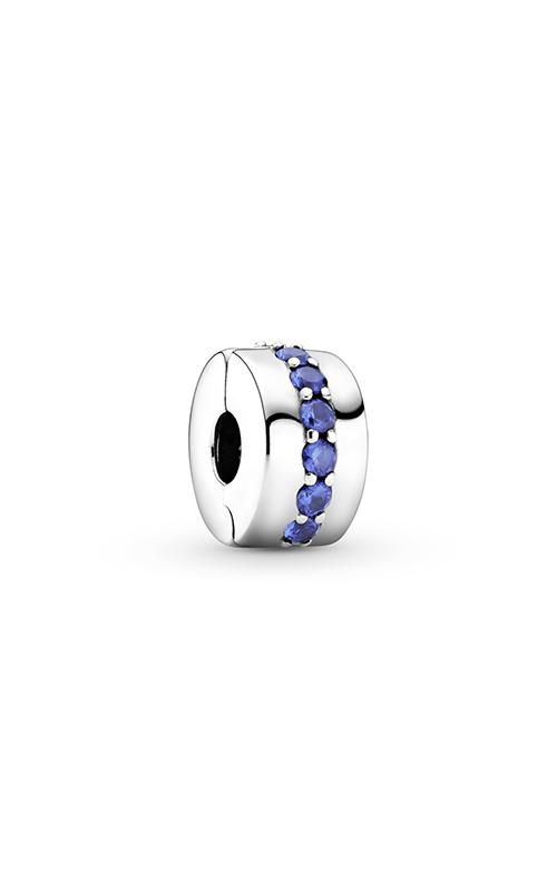 Pandora Blue Sparkle Clip, Blue Crystal 791972C01 product image