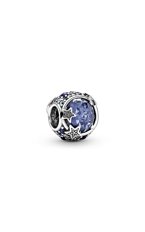 Pandora Celestial Blue Sparkling Stars, Blue Crystal & Clear CZ Charm 799209C01 product image