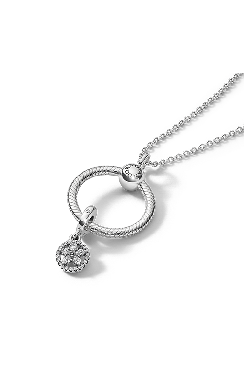 Pandora Sparkling Snowflake Pandora O Pendant Gift Set B801429 product image