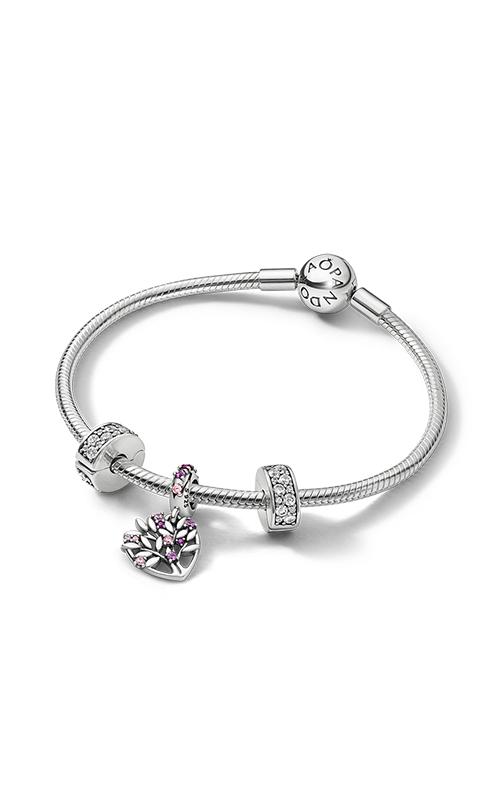 Pandora Sparkling Pink Heart Family Tree Gift Set B801426 product image