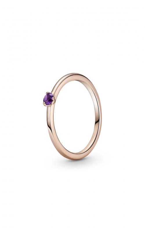 Pandora Colours Purple Solitaire Ring 189259C06-50 product image
