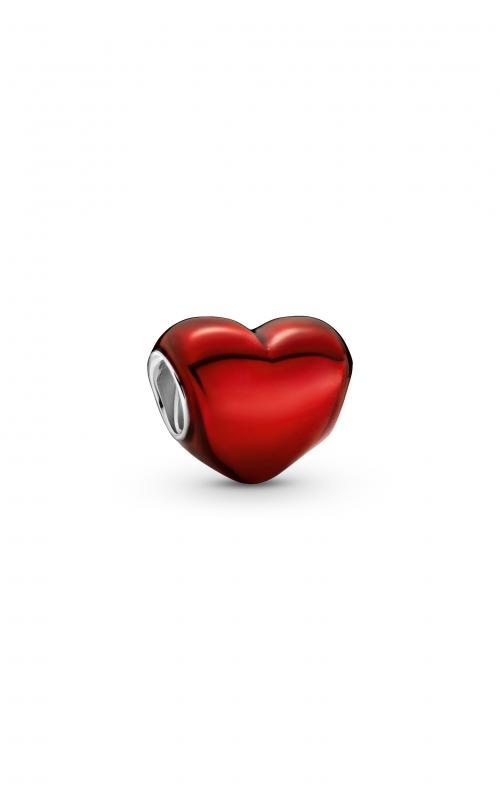 Pandora Colours Metallic Red Heart Charm 799291C02 product image