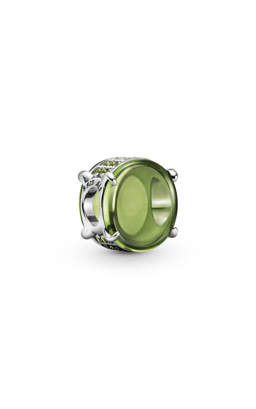 Pandora Colours Green Oval Cabochon Charm 799309C02 product image