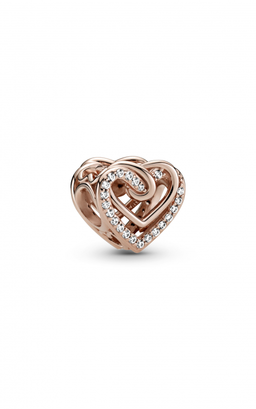 Pandora People Sparkling Entwined Hearts Charm 789270C01 product image
