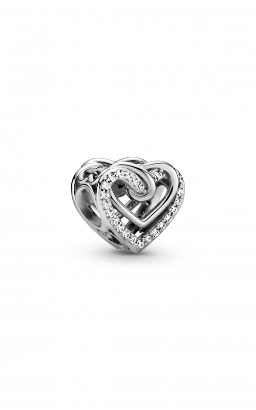 Pandora People Sparkling Entwined Hearts Charm 799270C01 product image
