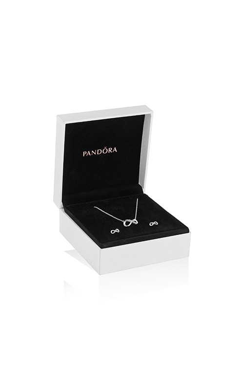 Pandora Passions Sparkling Silver Infinity Jewelry Gift Set B801508 product image