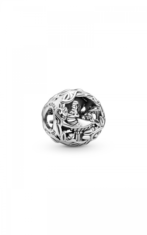 Pandora Disney Alice in Wonderland, Cheshire Cat & Absolem Caterpillar  Charm 799361C00