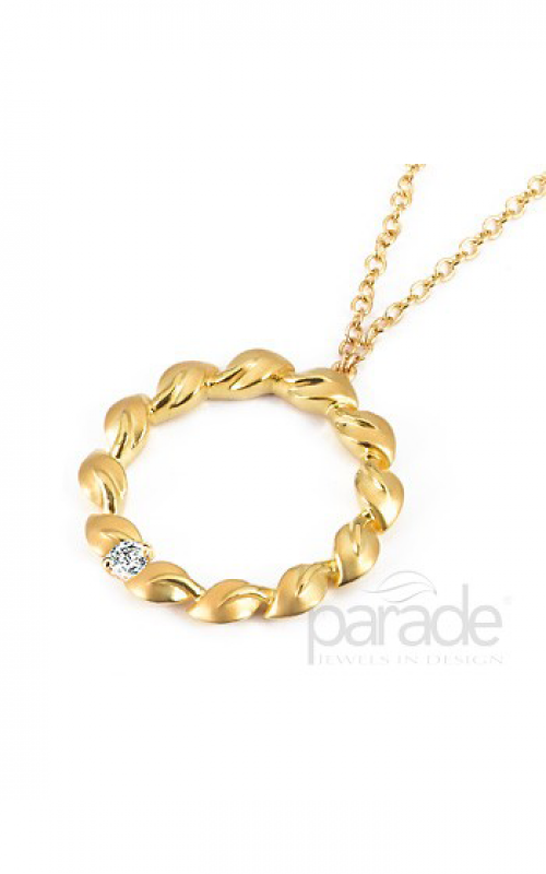 Parade Lyria Leaves Necklace N1976C-YG product image