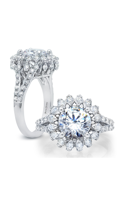 Peter Storm Halo Engagement ring WS315WD product image