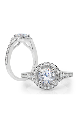 Peter Storm Halo Engagement ring WS317WD product image