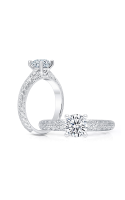 Peter Storm Halo Engagement Ring WS381W product image
