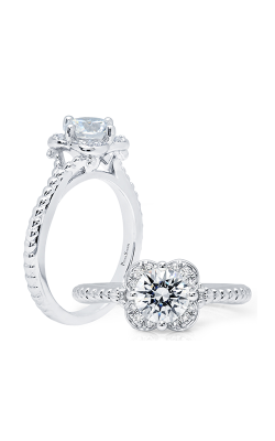 Peter Storm Halo Engagement Ring WS390WD2 product image