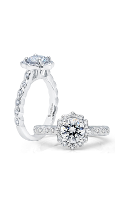 Peter Storm Halo Engagement Ring WS394WD2 product image