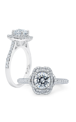 Peter Storm Halo Engagement Ring WS396WD2 product image