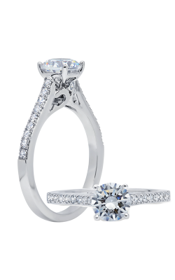 Peter Storm Solitaire Engagement Ring WS511WD product image