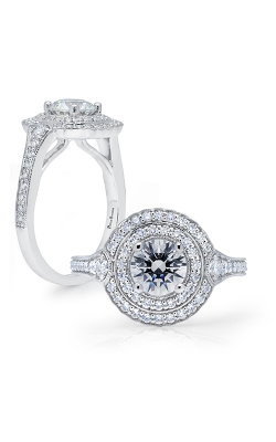 Peter Storm Semi Mounts Engagement ring WS332WD product image
