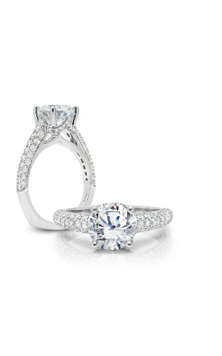 Peter Storm Solitaire Engagement Ring WS316WD product image