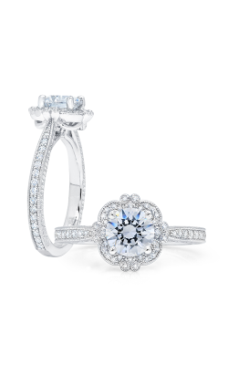 Peter Storm Semi Mounts Engagement ring WS363WD product image