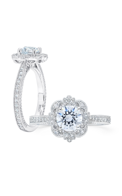 Peter Storm Semi Mounts Engagement ring WS364WD product image