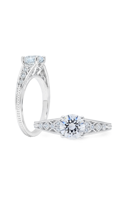 Peter Storm Solitaire Engagement Ring WS357WD product image