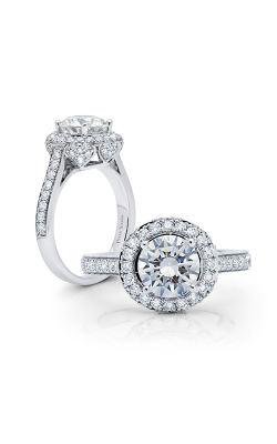 Peter Storm Halo Engagement Ring WS510WD product image