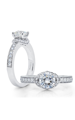 Peter Storm Halo Engagement Ring WS513WD product image