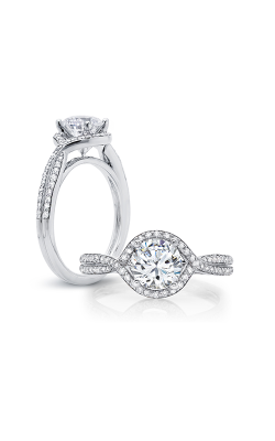 Peter Storm Halo Engagement Ring WS157WD product image