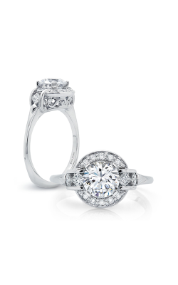 Peter Storm Halo Engagement Ring WS178WD product image