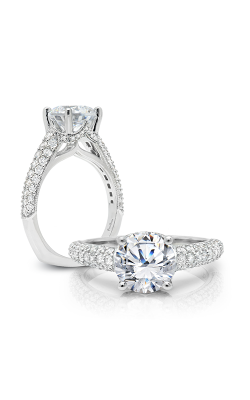Peter Storm Cinderella Engagement Ring WS316_4DiaW product image