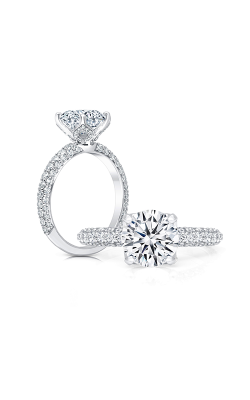 Peter Storm Cinderella Engagement ring WS405 4DiaW product image